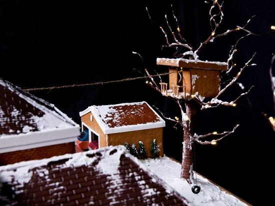 كعكة فيلم الاحتفال بليلة رأس السنة الجديدة Home Alone11