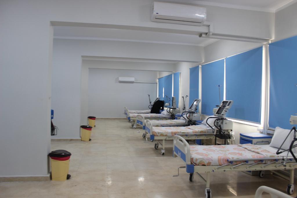 عبدالغفار يفتتح دار العزل الصحي لمستشفى سعاد كفافي
