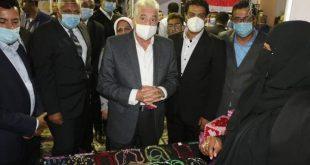 وزير الشباب والرياضة يفتتح معرض المنتجات الحرفية واليدوية والتراثية بشرم الشيخ