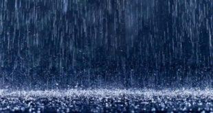 المطر هو آية من آيات الله تعالى في الأرض