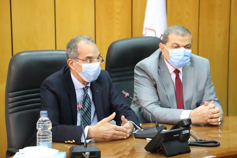 بروتوكول تعاون بين وزارتي القوي العاملة والاتصالات3