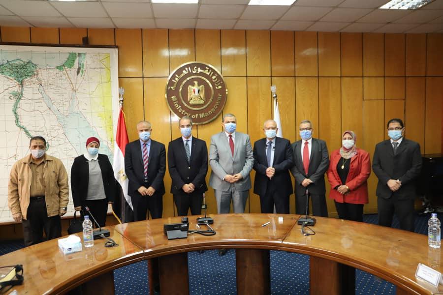 بروتوكول تعاون بين وزارتي القوي العاملة والاتصالات5