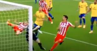 أتلتيكو مدريد يفوز برباعية على فريق قادش ويتصدر جدول الدوري الإسباني