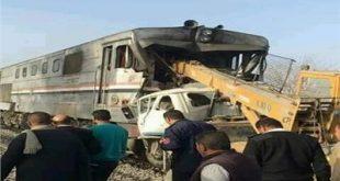 النيابة تحقق مع المتسببين في حادث قطار أسيوط
