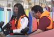 النجمة السعودية ريم عبد الله مع رامز جلال