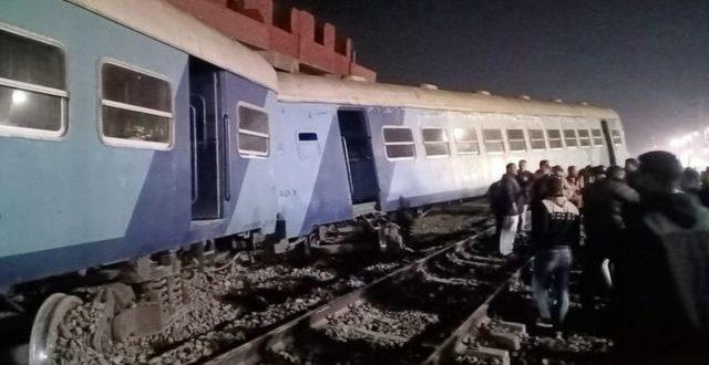 حادث قطار منيا القمح