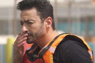 رامز جلال يتسبب في إصابة حمادة هلال في رامز عقله طار