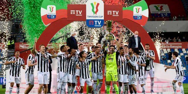 يوفنتوس يفوز بلقب كأس إيطاليا بحضور الجماهير