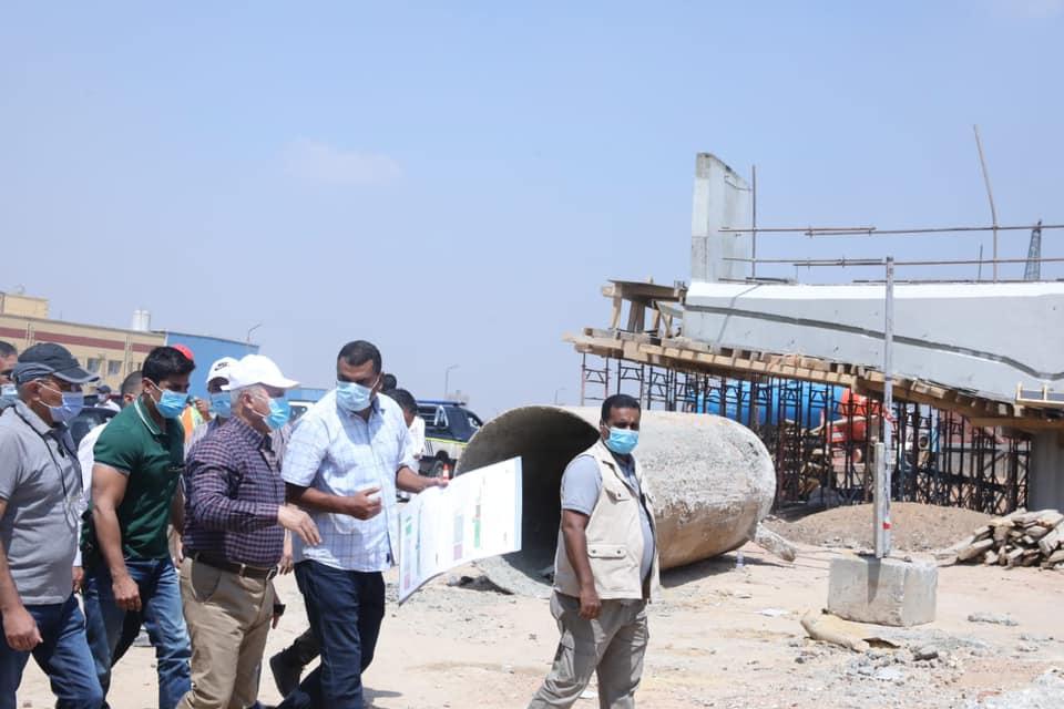 كامل الوزير يتابع أعمال التوسعة والتطوير والصيانة الشاملة بالطريق الدائري3