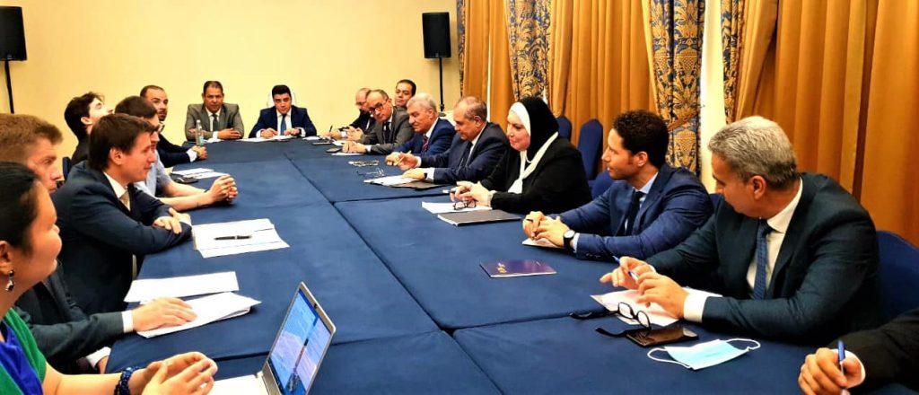 تعلن نجاح مفاوضات الجولة 4 لإتفاق التجارة الحرة بين مصر ودول الاتحاد