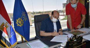 محافظ أسوان يعتمد التقسيم الأداري الجديد