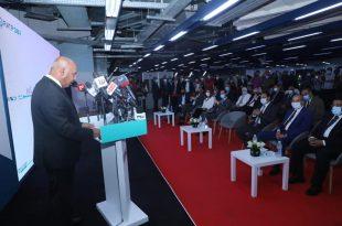 وزير النقل يشهد فعاليات تشغيل وصيانة الخط 3 لمترو الأنفاق
